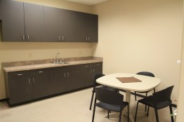 Suite 118 Employee Lounge