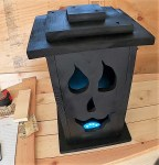 Scary Halloween Jack-o-Lantern Light Box