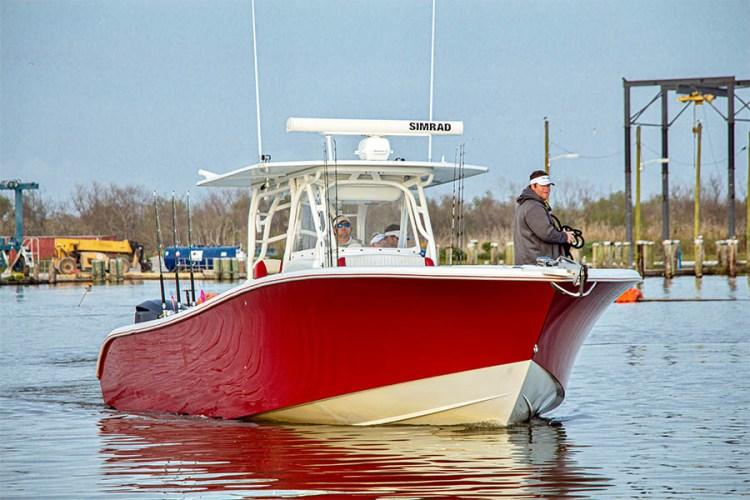 Yellowfin with Simrad Radar