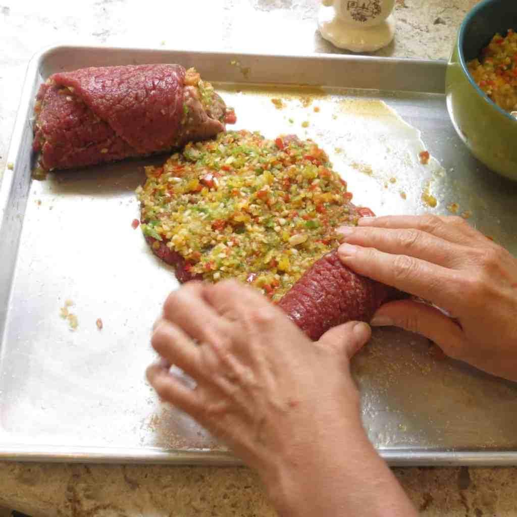 Rolled Steak