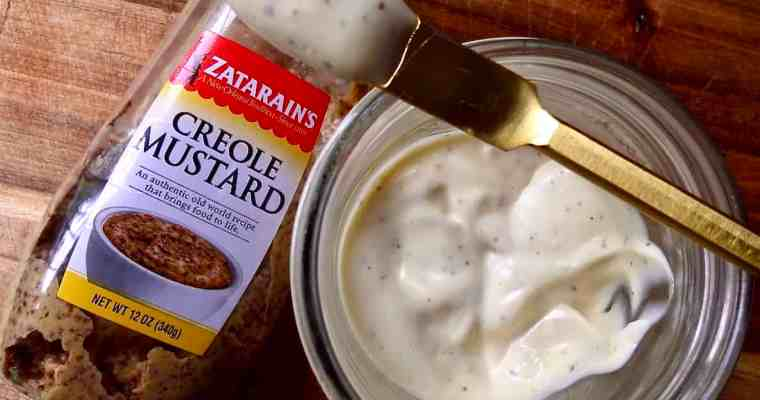 Homemade Mayonnaise With A Creole Kick