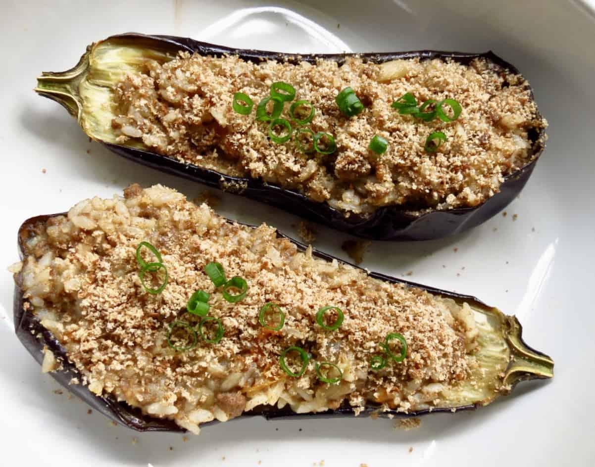 Eggplant Rice Dressing
