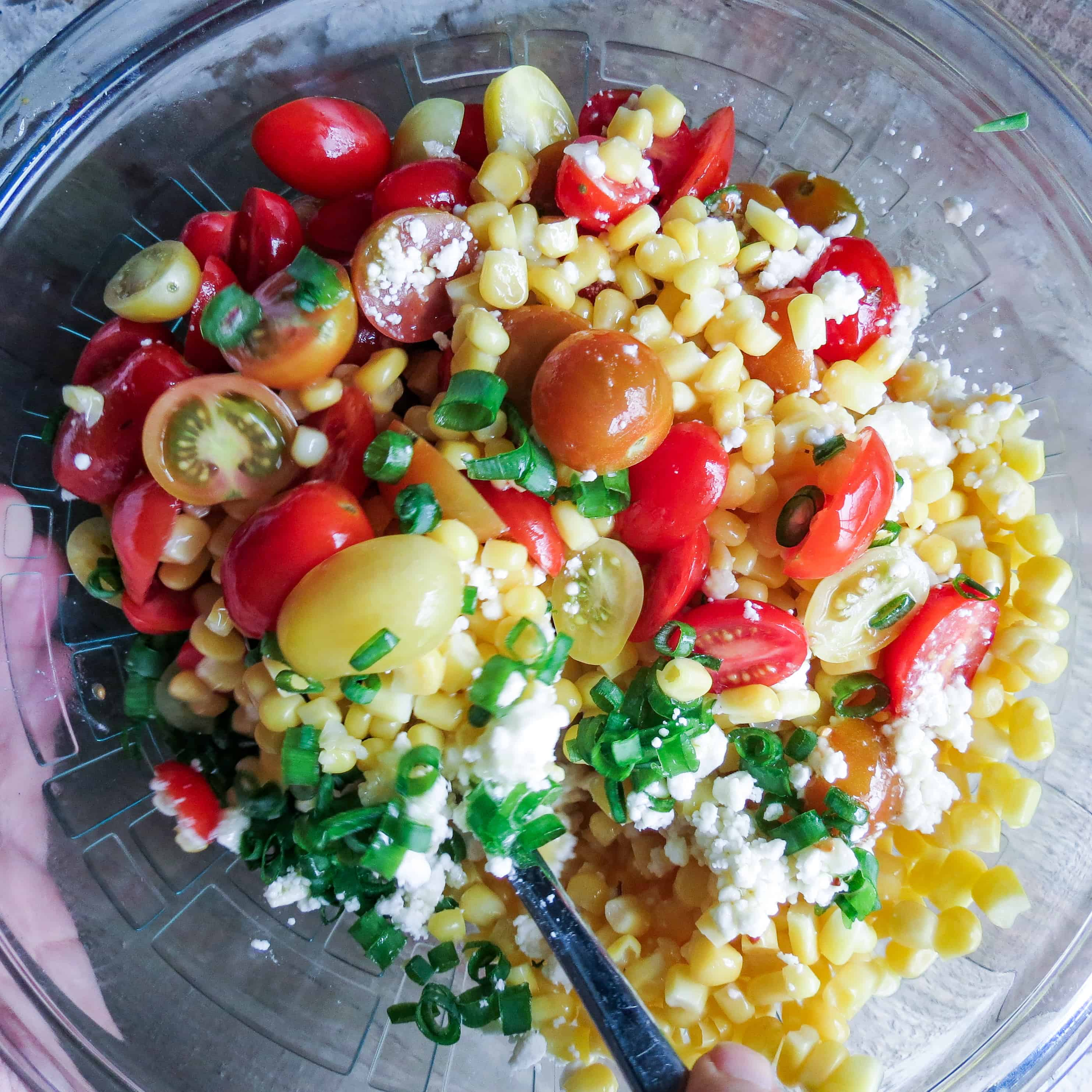 Corn Salad With Tomatoes