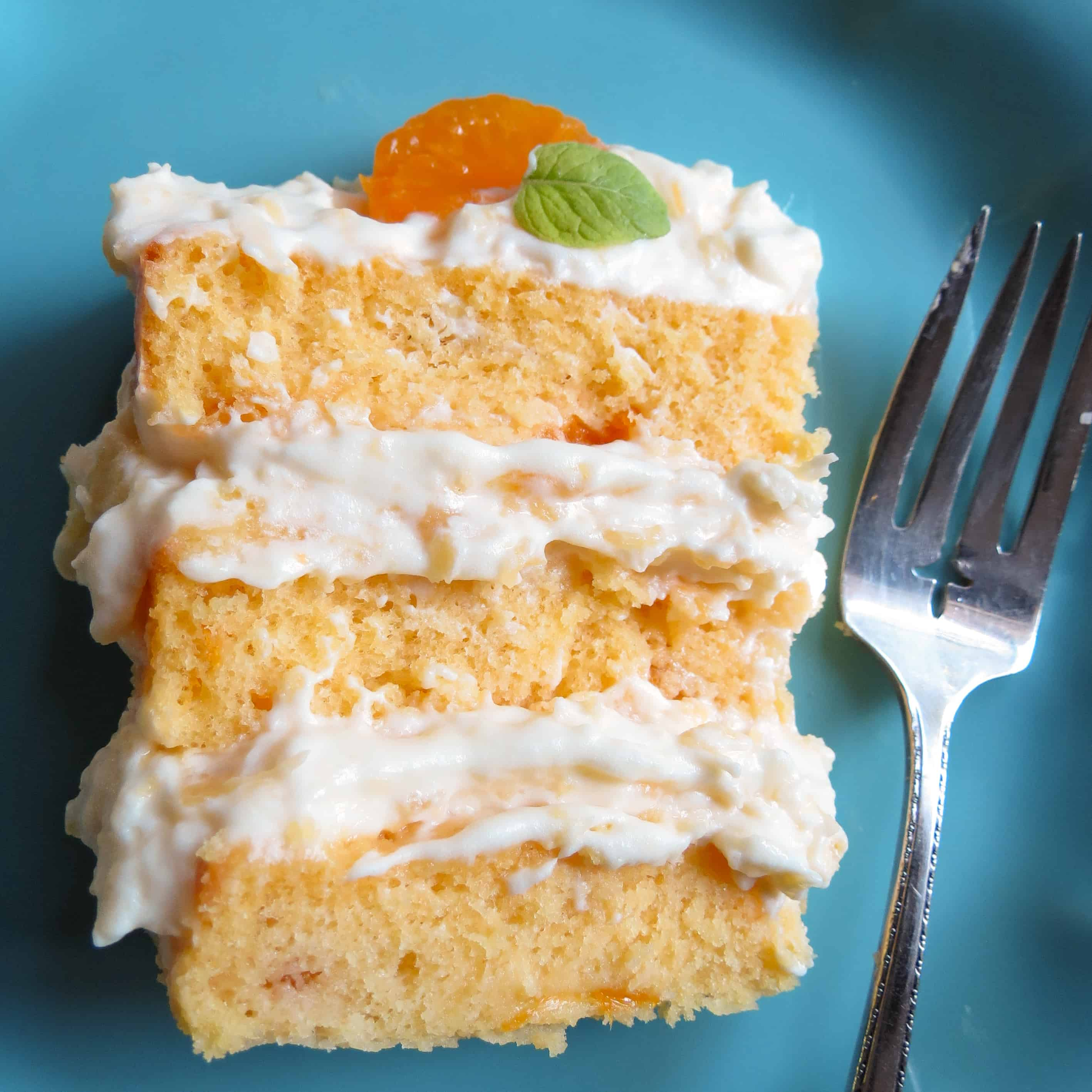 Mandaliscious Mandarin Orange Cake