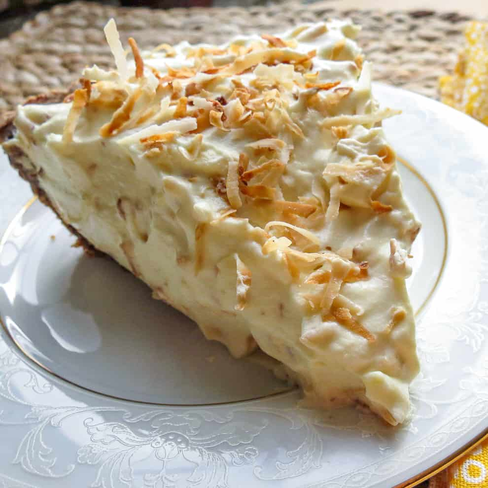 Low Carb Coconut Pie, Undertaker's Delight