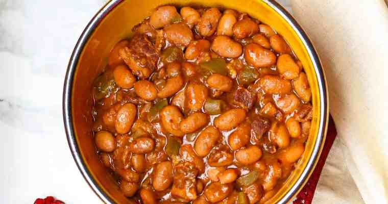 Saucy Pork And Beans
