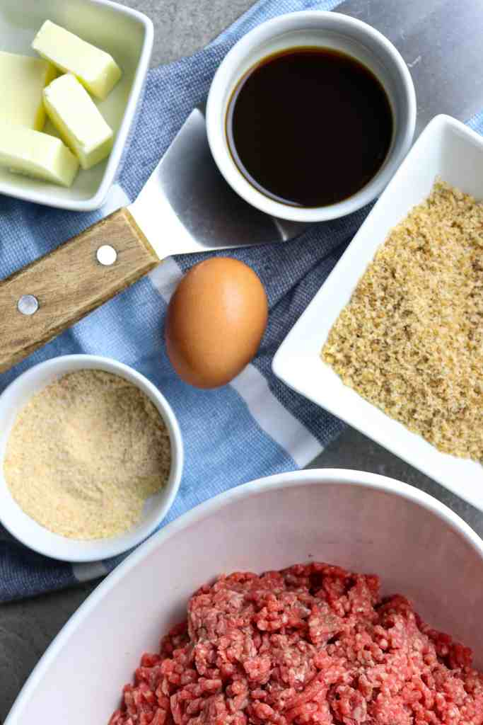 Ingredients for Best Sizzle Burgers Recipe.