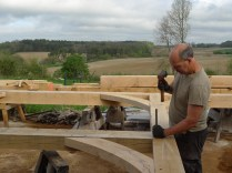 oak timber frame, timber frame house, timber framed house, oak buildings France, timber buildings France
