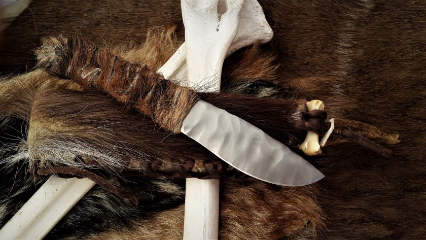 Art Knife The Cro Magnon Hunting Knife Louis Naude