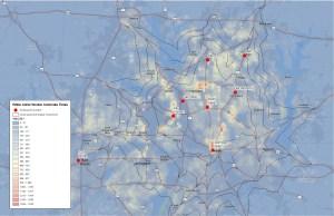 Commutes White Collar Workers North Dallas