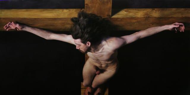 The good theif, St Dismas by Louis Smith