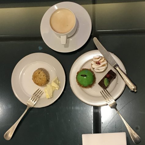 Tea plated
