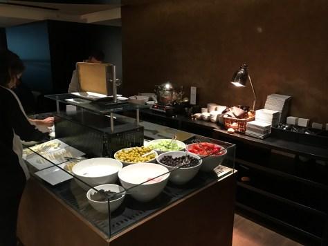 Lounge Istanbul salad bar