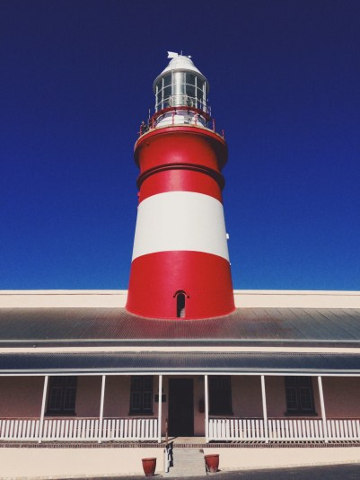 Lighthouse in Agulhas