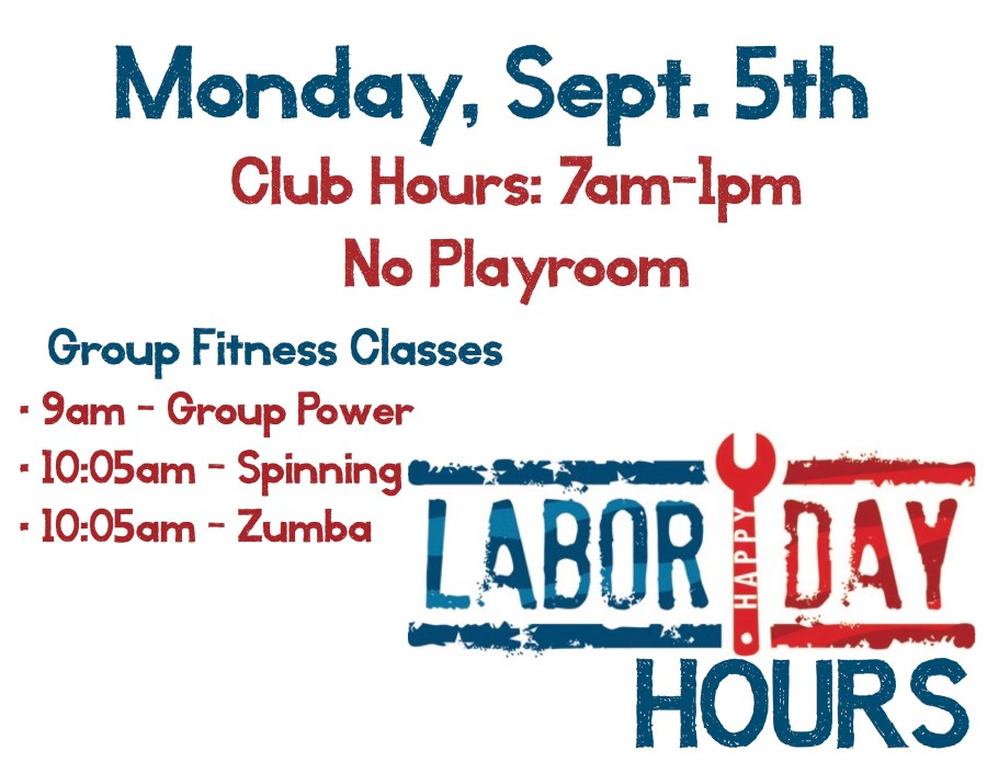 Labor Day Hours 2016