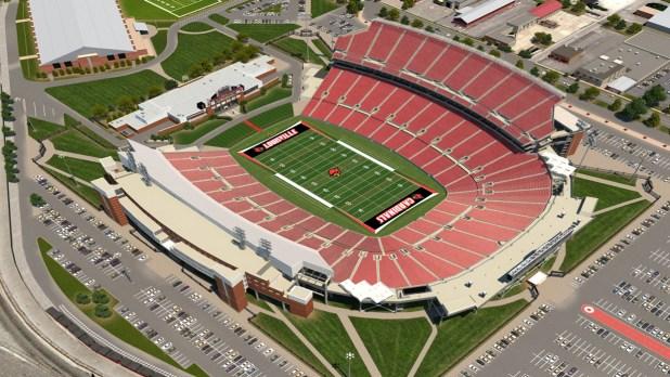University Of Louisville Football Stadium Seating Chart ...