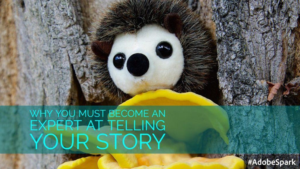 Why You Must Become an Expert At Telling Your Story