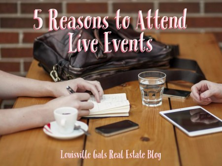 Attend Live Events