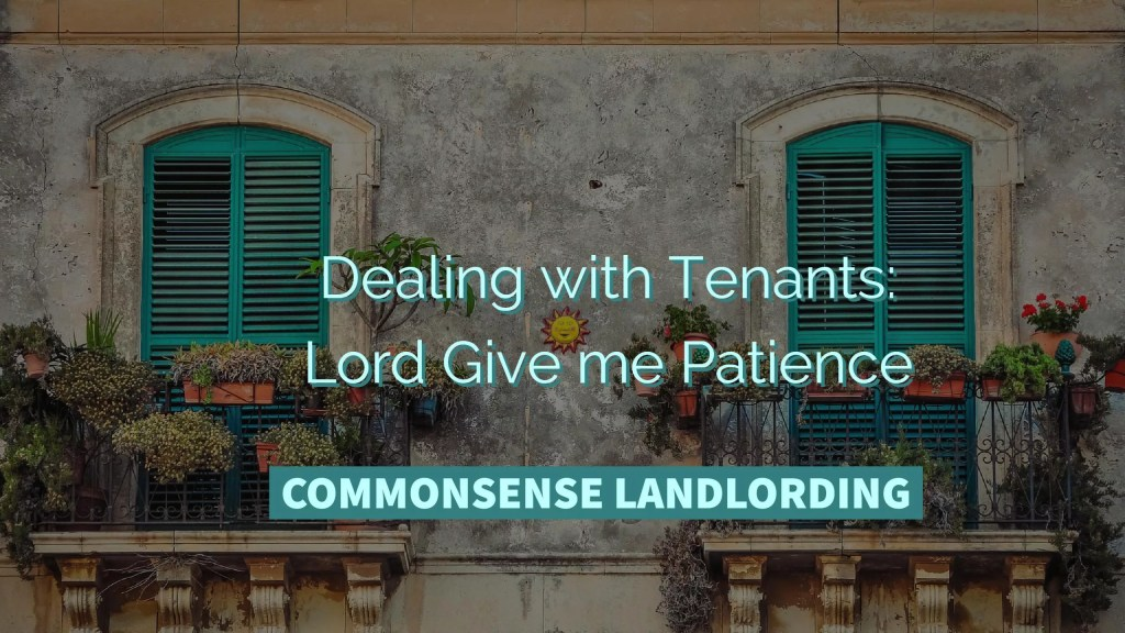 Dealing with Tenants