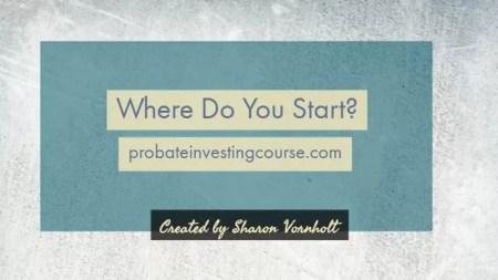 Probate Investing - Probate Court