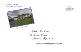 Postcard Marketing