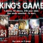 King's Game / Renda Hitori et Nobuaki Kanazawa