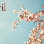 Mois d'avril à la manière de Moka