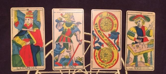 2021 in Tarot cards - Tarot de Marseilles