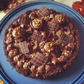 Gâteau aux chocolat improvisé