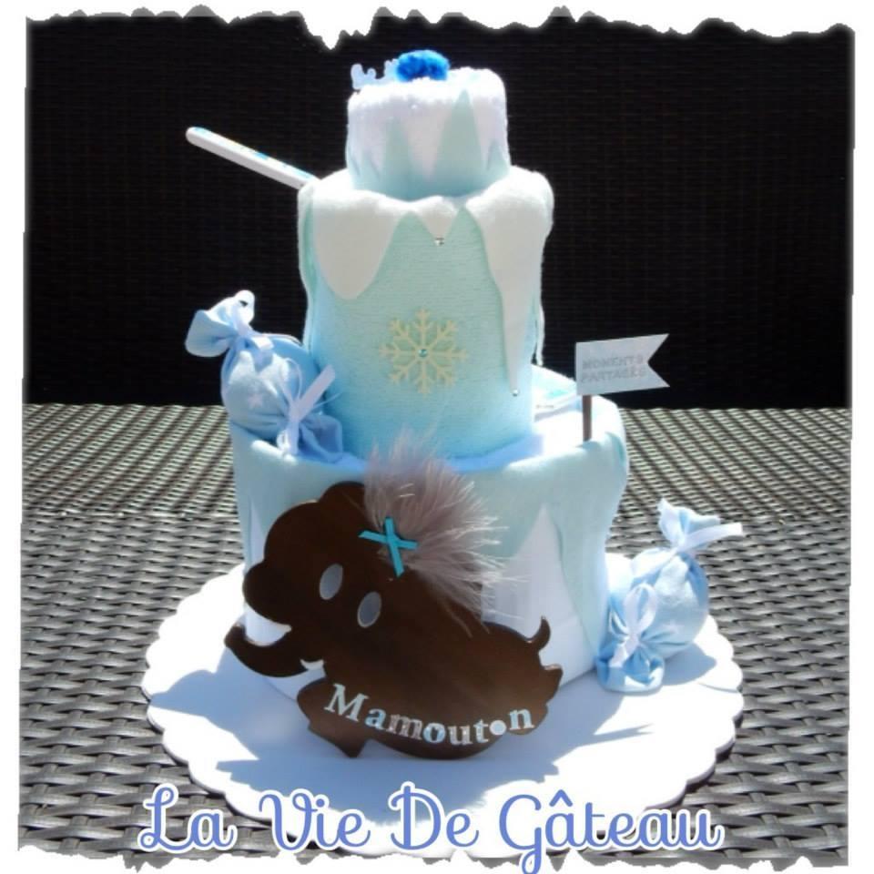 gâteau de couches, création La Vie de Gâteau