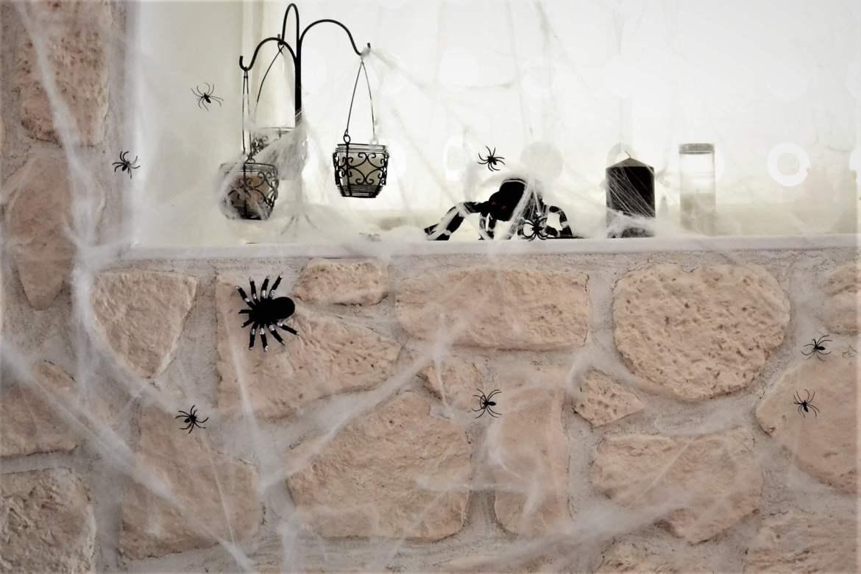 deco halloween toiles d'araignée