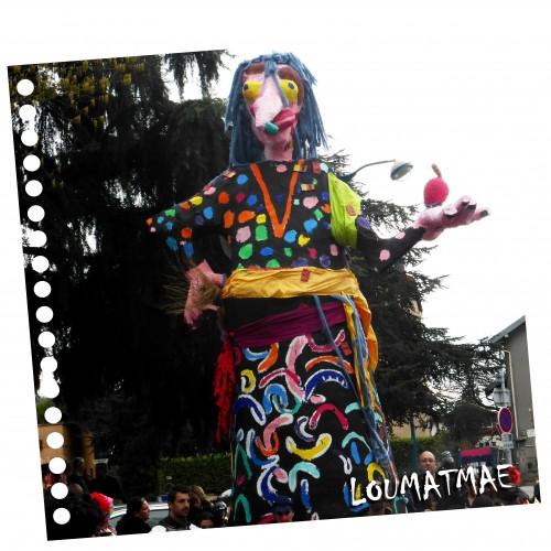 monsieur Carnaval sorcière
