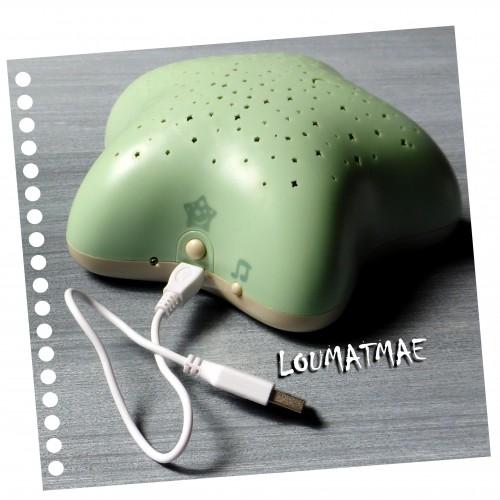Projecteur musical d'étoiles vert nature