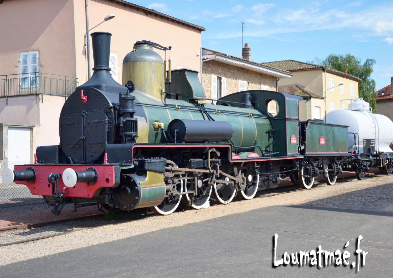 locomotive du Hameau Duboeuf