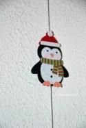guirlande pingouin de chez Lidl