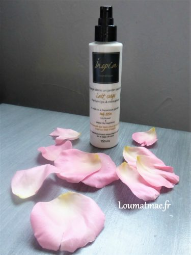 lait corps femme inopia cosmetiques
