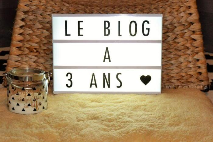 3 ans de blog