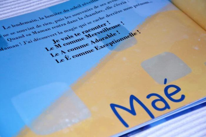 signification des lettres du prénom de maé