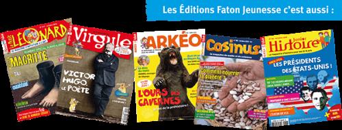 magazine jeunesse des éditions fatons