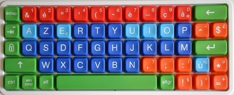 clavier azerty simplifié pour enfant