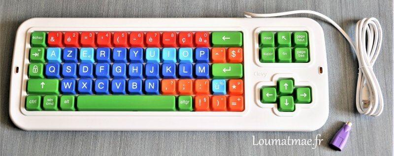 clavier clevy pour enfant dys
