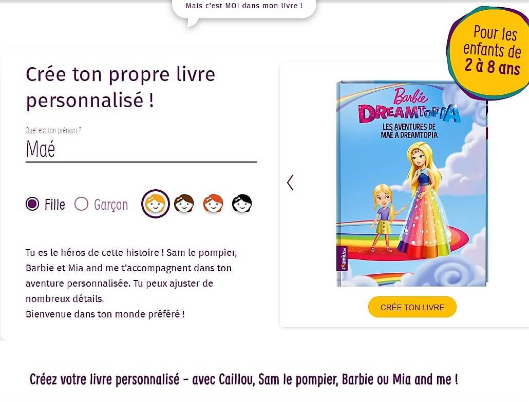 personnaliser son personnage framily