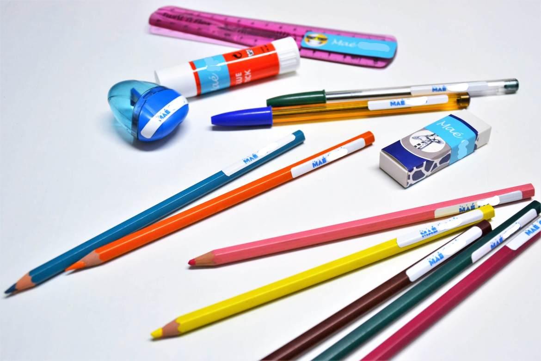 etiquettes personnalisées Stickerkid affaires scolaires