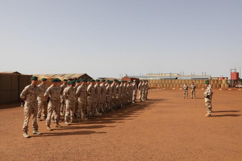 Malis ründasid terroristid sõjaväebaasi, viis Eesti kaitseväelast said vigastada