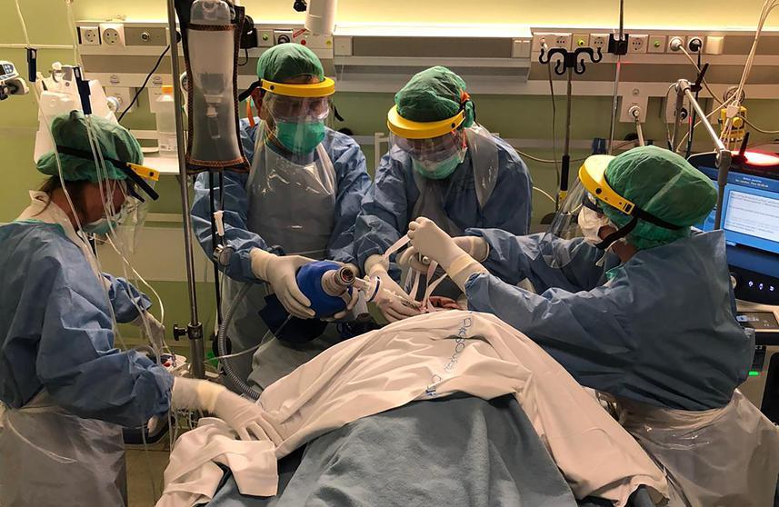 Video olukorrast Hispaania haiglas (NB! Nõrganärvilistele mittesoovitav)