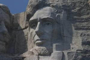 President Abraham Lincoln in Granite