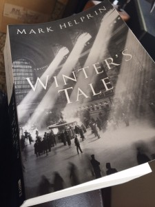 "Grand Central Station on book cover of ""Winter's Tale"" by Mark Helprin 1983"