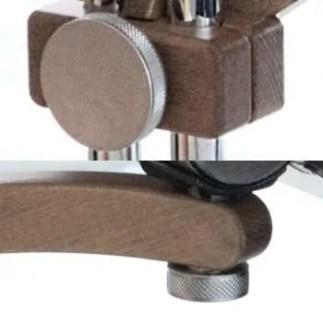 manopole regolabili altezza vassoio portanotebook