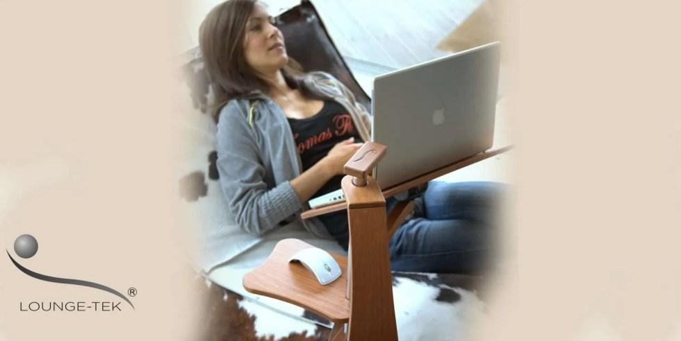 Un soporte versátil para laptops pequeñas y grandes y Tablet PC