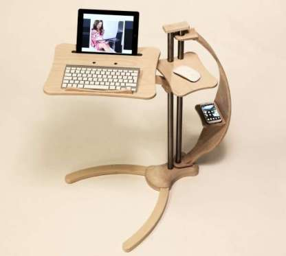 notebook desk as also tablet support
